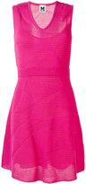M Missoni knitted flared dress - women - Cotton/Viscose/Polyamide/Elastodiene - 40