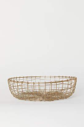 H&M Metal Wire Bread Basket - Gold
