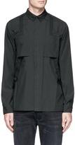 Helmut Lang Suspender strap shirt