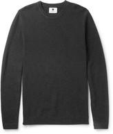 Nn07 - Hubert Honeycomb-knit Cotton Sweater