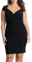 Lauren Ralph Lauren Plus Size Women's Jersey Body-Con Dress