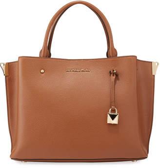MICHAEL Michael Kors Arielle Large Leather Satchel Bag