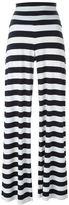Norma Kamali bootcut high-waisted trousers - women - Polyester/Spandex/Elastane - XS