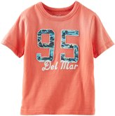Osh Kosh Logo Tee (Toddler/Kid) - Orange-6