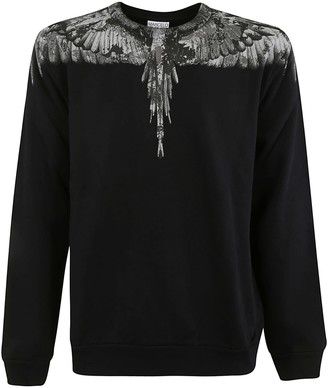 Marcelo Burlon County of Milan Regular Wings Crewneck