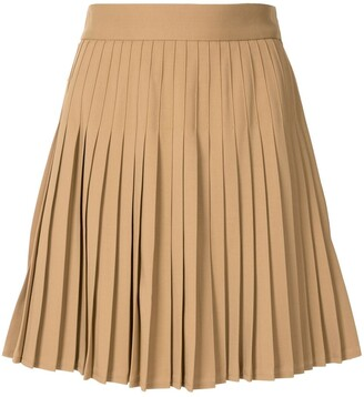 Peter Do Pleated Mini Skirt