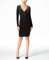 INC International Concepts Petite Embellished V-Neck Sheath Dress, Only at Macy's