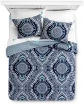Mudhut Blue Akina Duvet Cover Set