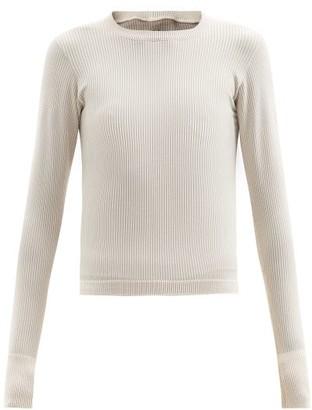 Cordova Ribbed-jersey Thermal Top - Cream