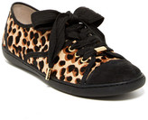 Donald J Pliner Midori Genuine Calf Hair Leopard Sneaker