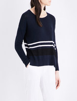 James Perse Oversized silk-blend jumper