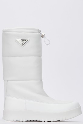 Prada Quilted Moon Boots