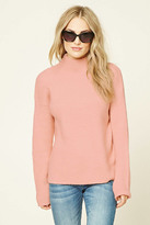 Forever 21 FOREVER 21+ Boxy High Neck Sweater