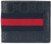 Gucci Sylvie web bi-fold wallet - men - Calf Leather - One Size
