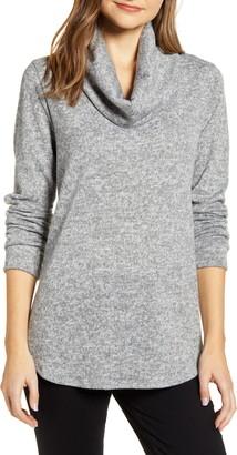 Caslon Cozy Cowl Tunic Sweater