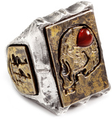 Lulu Frost George Frost *NEW* G. FROST LOVE THY ENEMY RING - WHITE BRONZE