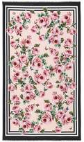 Dolce & Gabbana Floral-printed scarf