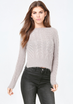 Bebe Textured Knit Sweater