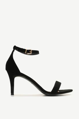 Ardene Faux Suede Ankle Strap Heels
