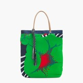 J.Crew Tote in mixed Ratti® prints