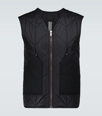 Rick Owens Padded cargo vest