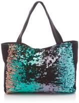 Le Temps Des Cerises Womens Metalik 1 Shoulder Bag