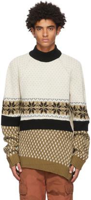 Marine Serre Multicolor Regenerated Melange Sweater