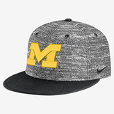 Nike College True Heathered (Michigan) Adjustable Hat