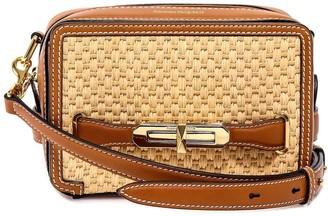 Alexander McQueen Woven Shoulder Bag