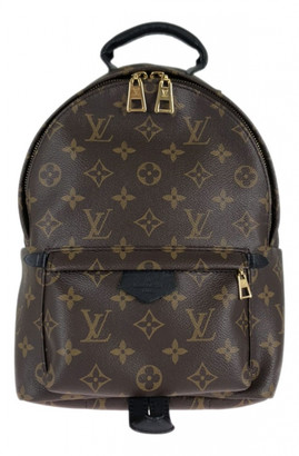 Louis Vuitton Palm Springs Brown Cloth Backpacks