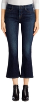 J Brand Selena Mid-Rise Crop Boot Cut In Mesmeric