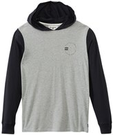 Billabong Men's Ocular Hooded Pullover Long Sleeve Tee 8139043