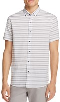 Michael Bastian Stripe Regular Fit Button-Down Shirt