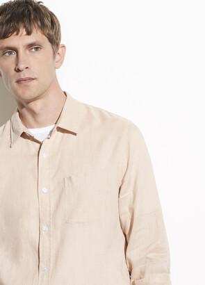 Vince Linen Long Sleeve