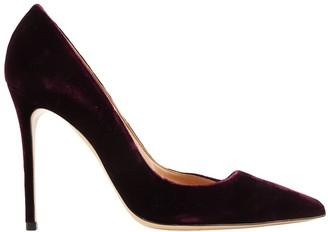 Gianvito Rossi Gianvito Purple Velvet Heels