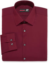 Jf J.Ferrar JF Long-Sleeve Easy-Care Solid Dress Shirt - Big & Tall