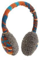 Pendleton Women's Merino Wool Ear Muffs - Brown
