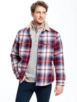 Old Navy Sherpa-Lined Shirt Jacket for Men