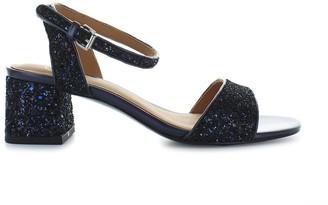Ash Remix Glitter Navy Sandal