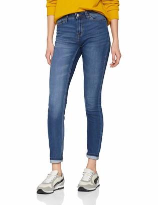 JDY Women's Jdyjake Skinny Rw Med DNM Noos Jeans