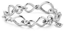 David Yurman Continuance Center Twist Bracelet in Sterling Silver