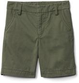 Gap Flat-front twill shorts