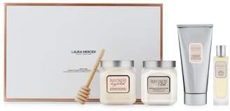 Laura Mercier 4-Piece Luxe Ultime Almond Coconut Milk Luxe Body Set