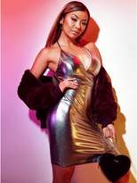 G by Guess Women's Liane V Kiara Metallic Dress