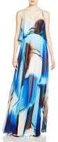 JS Collections Printed Chiffon Bodice Overlay Gown - 100% Bloomingdale's Exclusive