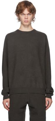 Frenckenberger Green Cashmere Boyfriend Sweater