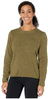 Arc'teryx Covert Sweater (Arbour Heather) Women's Clothing