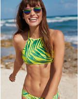 aerie Cross-Strap High Neck Bikini Top
