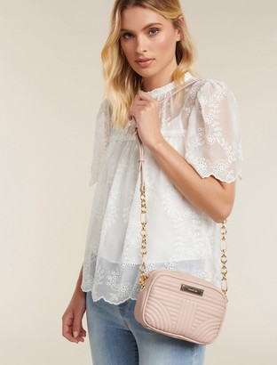 Forever New Cameron Quilted Camera Bag - Blush - 00