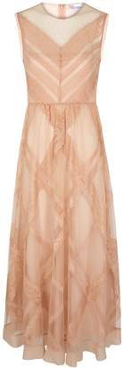 RED Valentino Pink Tulle And Lace Dress